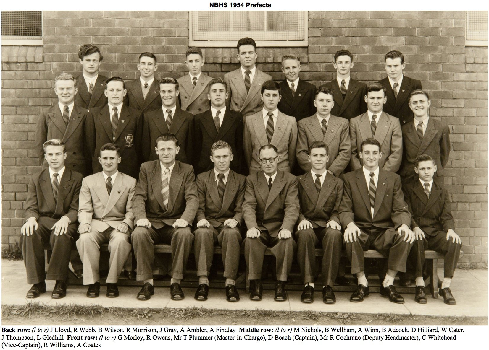 1954 Prefects